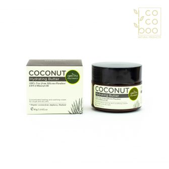 Натурален хидратиращ крем за лице с органично студено преовано кокосово масло и още 7 органични масла