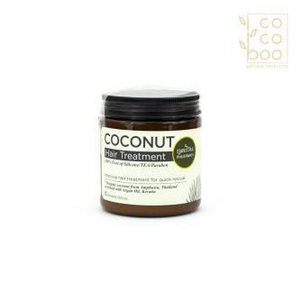 Супер подхранваща натурална кокосова маска за коса