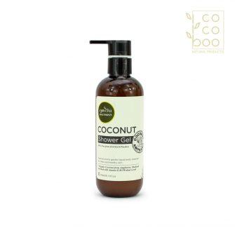 Натурален хидратиращ душ гел с кокос