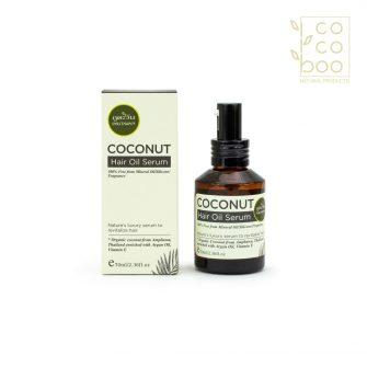 Натурален възстановяващ спрей за коса с органично кокосово масло