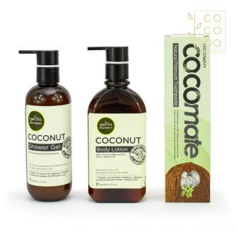 Натурален Кокосов Сет – Ready for Love с органично студено пресовано кокосово масло