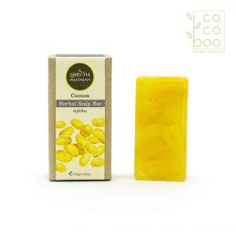 Натурален сапун с екстракт от копринени пашкули