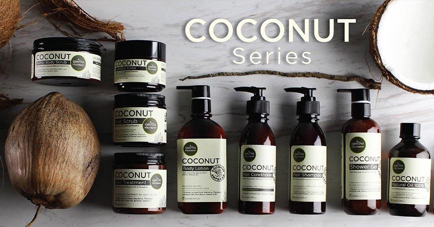 aНатурална Терапия с Органично кокосово масло за коса
